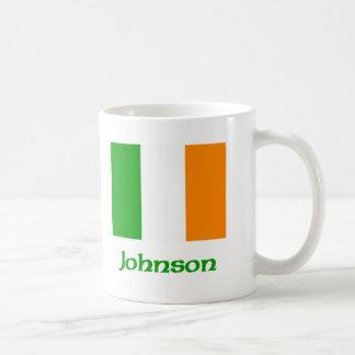 Johnson Irish Flag Coffee Mug