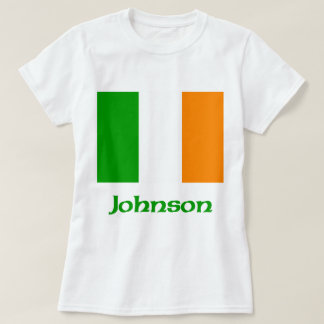 Johnson Irish Flag T-Shirt