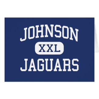 Johnson - Jaguars - High - Huntsville Alabama Card