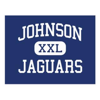 Johnson - Jaguars - High - Huntsville Alabama Post Card