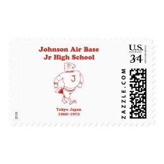 Johnson Jr High School Japan Postage