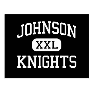 Johnson - Knights - High - Gainesville Georgia Postcard