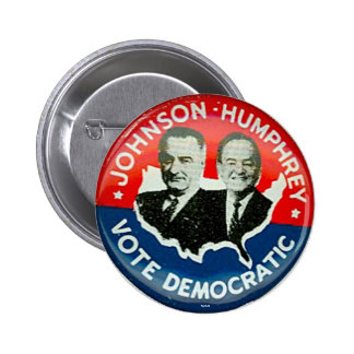 Johnson para el presidente - botón