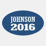 Johnson - Ron Johnson 2016 Oval Sticker