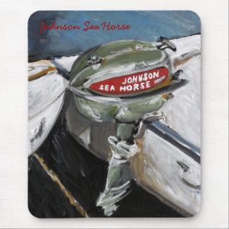 Johnson Sea Horse Mouse Pad