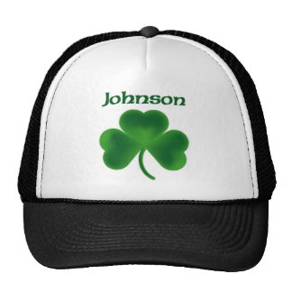 Johnson Shamrock Trucker Hat