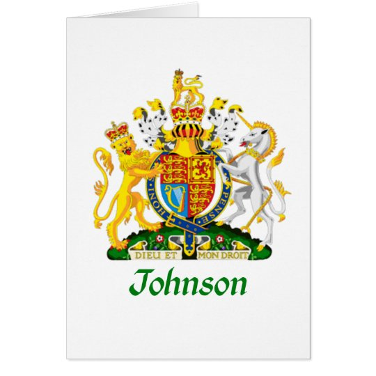 Johnson Shield of Great Britain Card