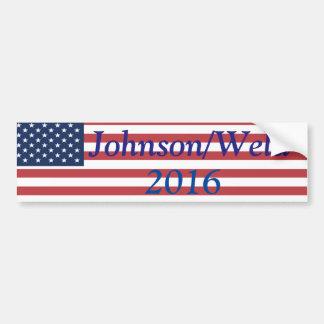 Johnson/soldadura en 2016 pegatina para auto