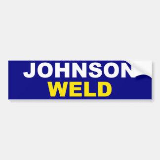 Johnson-Soldadura Pegatina Para Auto