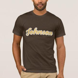 Johnson T-Shirt Yellow Logo