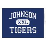 Johnson Tigers Middle School McKinney Texas Greeting Cards