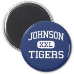 Johnson Tigers Middle School McKinney Texas Fridge Magnet