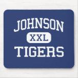 Johnson Tigers Middle School McKinney Texas Mousepads