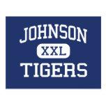 Johnson Tigers Middle School McKinney Texas Post Cards