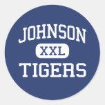 Johnson Tigers Middle School McKinney Texas Sticker