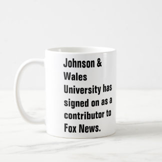 Johnson & Wales University has signed on as a c... Coffee Mug