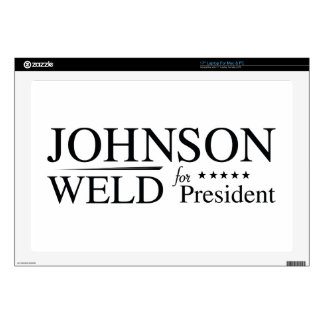"""Johnson Weld 2016 Decals For 17"""" Laptops"""