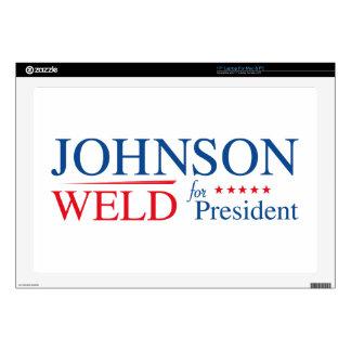 Johnson Weld 2016 Laptop Skin