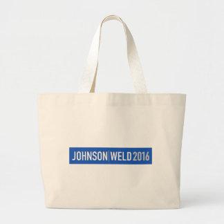 Johnson-Weld 2016 Large Tote Bag