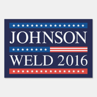 Johnson Weld 2016 Lawn Sign