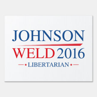 Johnson Weld 2016 Lawn Sign