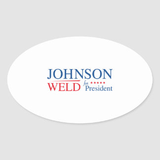 Johnson Weld 2016 Oval Sticker