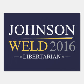 Johnson Weld 2016 Yard Sign