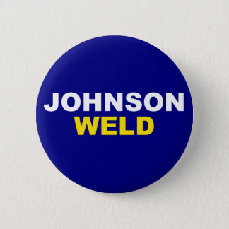 Johnson-Weld Pinback Button
