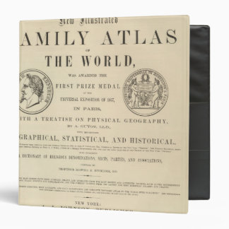 Johnson's Illustrated Family Atlas Binder
