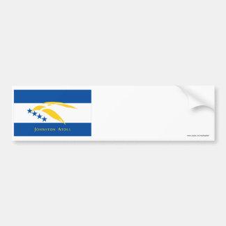Johnston Atoll Flag Bumper Sticker