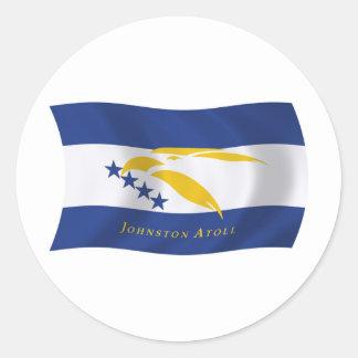 Johnston Atoll Flag Sticker