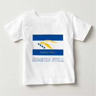 Johnston Atoll Flag with Name Baby T-Shirt