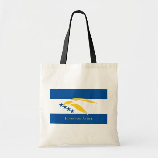 Johnston Atoll (Local), United States flag Budget Tote Bag