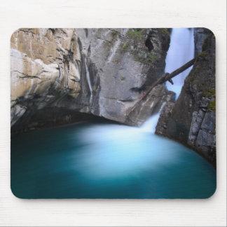 Johnston Canyon-Lower Falls Banff Alberta Canada Mouse Pad