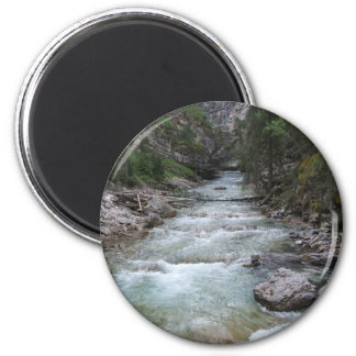 Johnston Canyon Step Falls Fridge Magnets