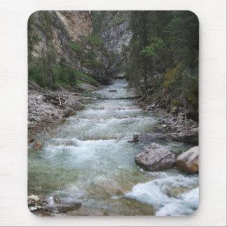 Johnston Canyon Step Falls Mouse Pad
