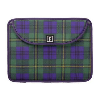 Johnston clan Plaid Scottish tartan Sleeve For MacBooks