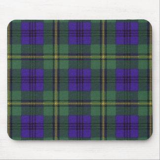 Johnston clan Plaid Scottish tartan Mouse Pad