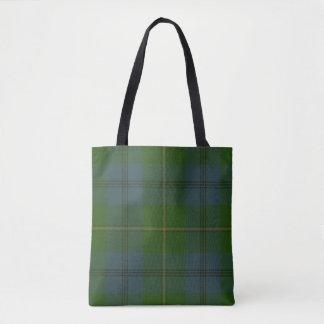 Johnston Clan Tartan Tote Bag
