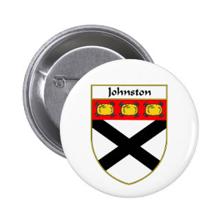Johnston Coat of Arms/Family Crest Button