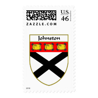 Johnston Coat of Arms/Family Crest Stamp