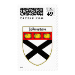 Johnston Coat of Arms/Family Crest Stamps
