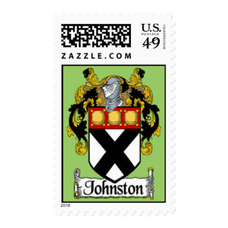 Johnston Coat of Arms Postage Stamps