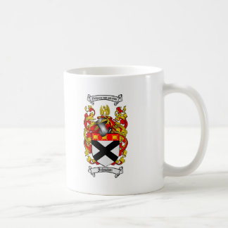 JOHNSTON FAMILY CREST -  JOHNSTON COAT OF ARMS COFFEE MUG