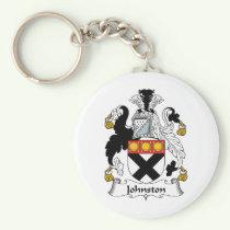 Johnston Family Crest Keychain