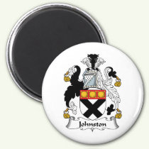 Johnston Family Crest Magnet