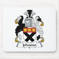 Johnston Family Crest Mousepad