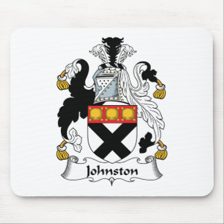 Johnston Family Crest Mouse Pad