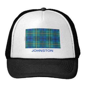 JOHNSTON FAMILY TARTAN TRUCKER HAT