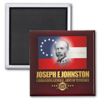 Johnston, J (Southern Patriot) 2 Inch Square Magnet